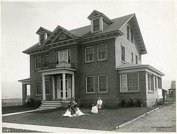 historic New Meadows Idaho house