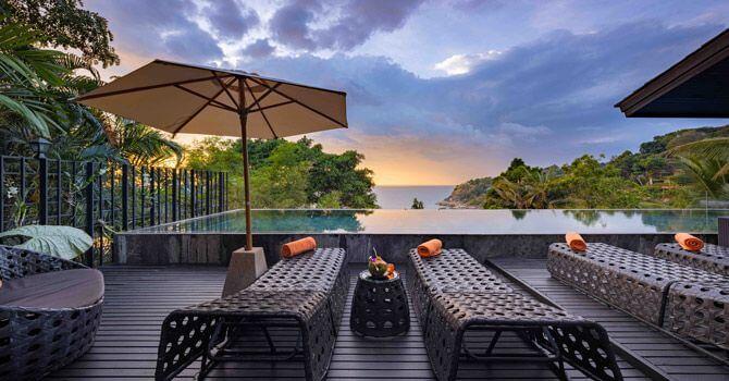 Villa Yang luxury Phuket pool