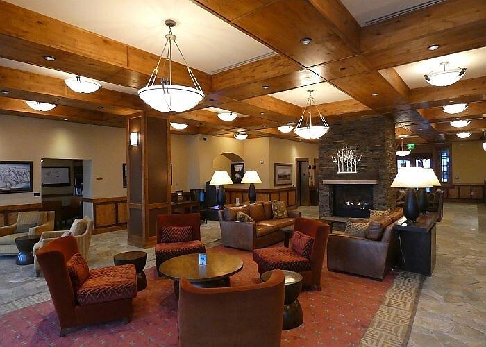 Lobby at the Lodge at Osprey Meadows Tamarack