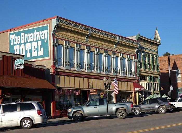 Broadway Hotel Philipsburg Montana exterior