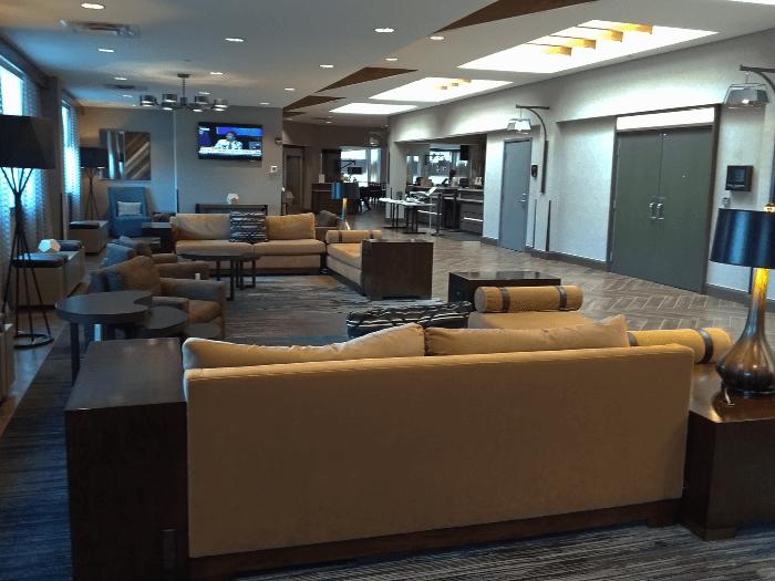 Hilton Cincinnati Hotel Lobby Reception