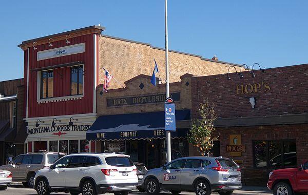 Kalispell Montana main street