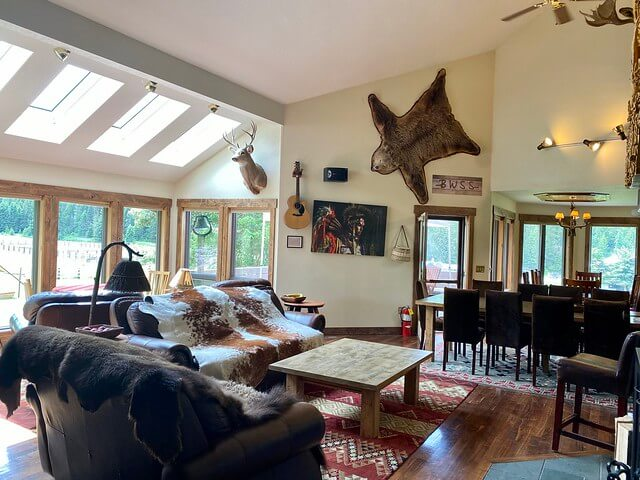Bar W Guest Ranch Ideal Whitefish, Montana Location