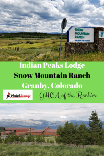 Located between Winter Park and Granby on Highway 40 in Colorado, Snow Mountain Ranch offers pet-friendly & budget-friendly hotel rooms at Indian Peaks Lodge --and those views!  #indianpeakslodge #snowmountainrach #ymcaoftherockies #hotelsnearRockyMountainNationalPark #grandcountylodging#coloradomountainhotels