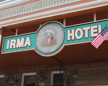 Irma Hotel, Cody Wyoming
