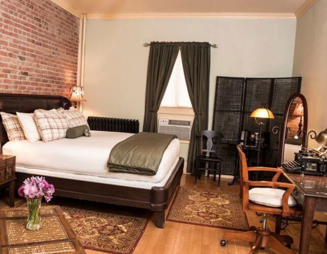 Ernest Hemingway's Room at Chamberlain Hotel