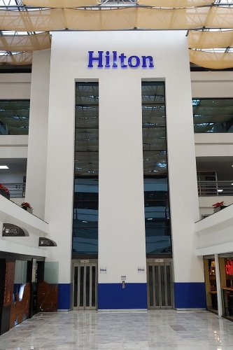 Hilton Mexico City Airport hotel - where to stay in the terminal