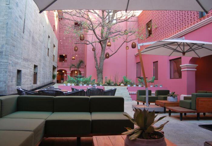 City Centro Oaxaca central patio