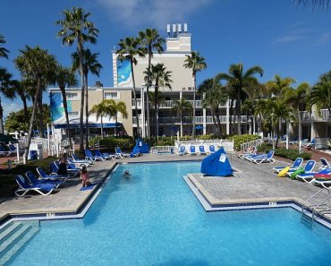 family pool at St Pete beach resort