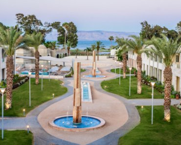 The Magdala Hotel: Unexpected Luxury in a Galilean Pilgrims' Hostel