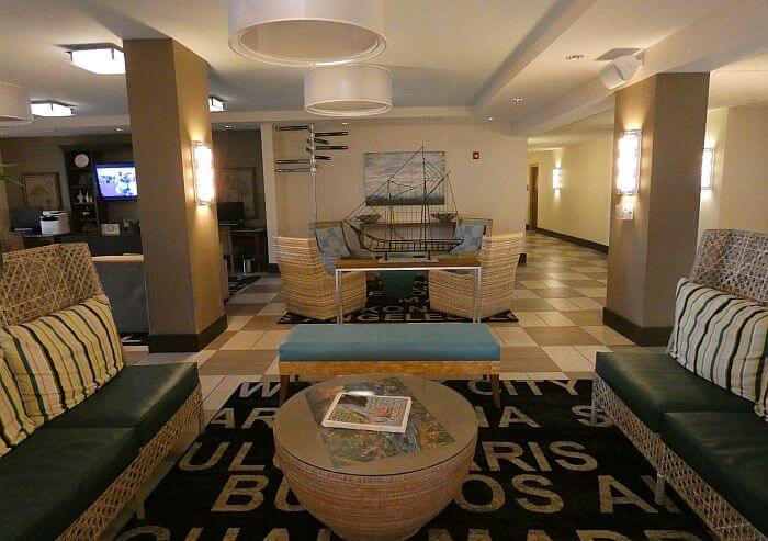 Sebastian Hotel lobby