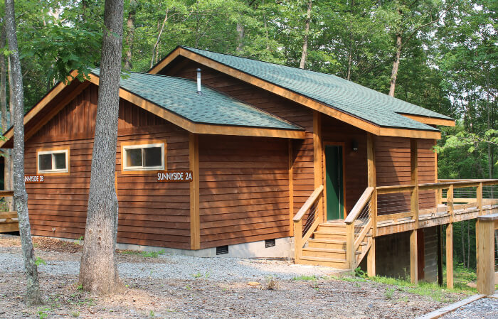 Sunnyside Cabin at Adventures on the Gorge