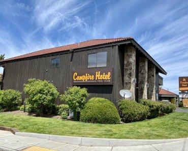 Gather Round Campfire Hotel in Bend, Oregon