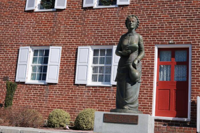 Jennie Wade House in Gettysburg