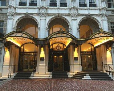 The InterContinental Mark Hopkins San Francisco