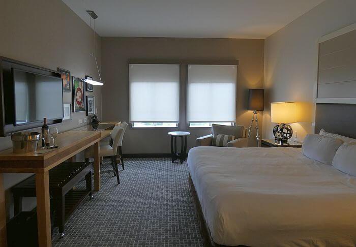 Room at Epicurean Hotel Tampa