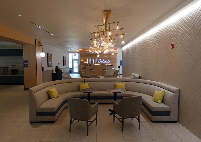 Tryp Orlando lobby