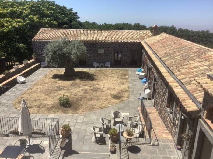 Bosco Ciancio hotel Sicily