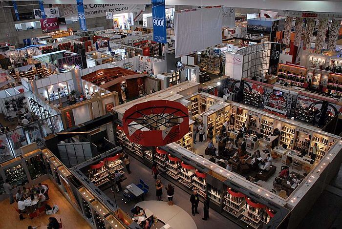 Poliforum convention center trade show Guanajuato