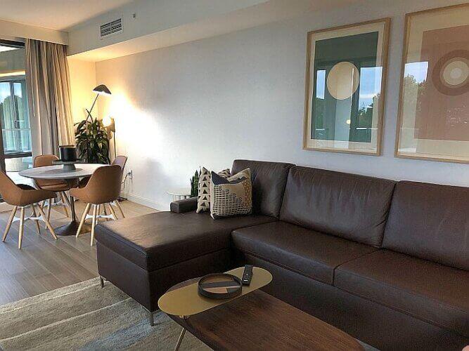 Hotel Citrine Living room