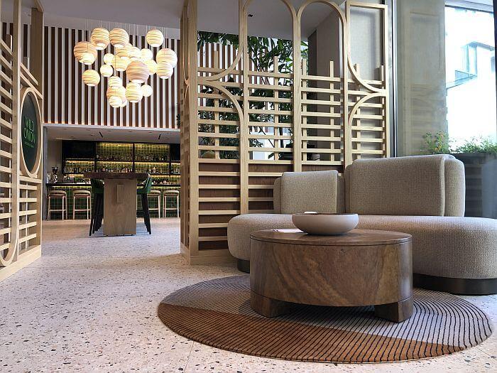 Hotel Citrine Lobby