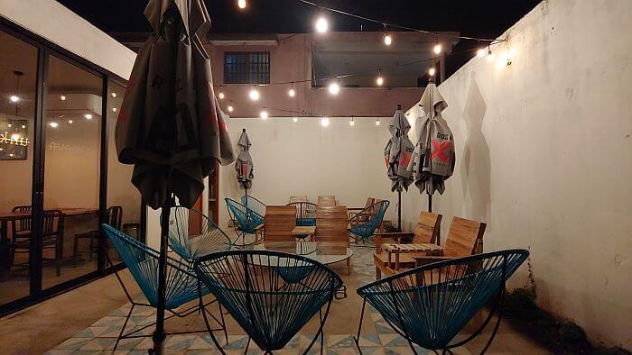 Unknown Hotel restaurant patio