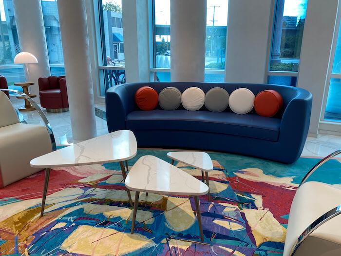 Lobby, Versante Hotel, Richmond BC Canada
